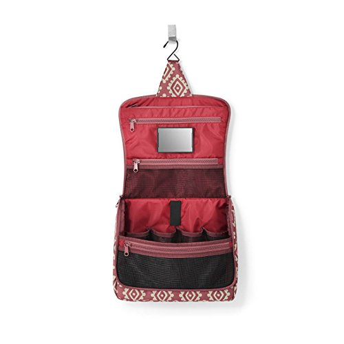 Reisenthel Toiletry Bag XL Beauty Case, 28 cm, 4 litres, Red Diamonds