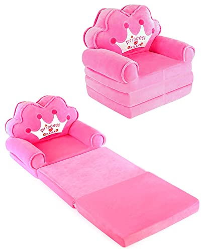 Sofa Armchair Couch and Pull Out Bed for Toddler Girls