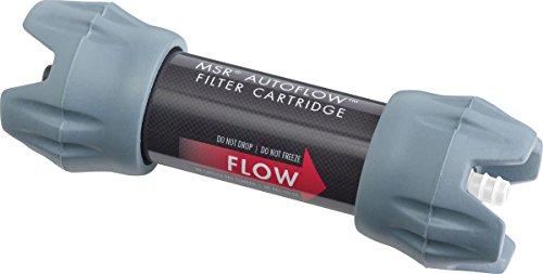 MSR Autoflow Gravity Filter Replacement Cartridge for Water Purifier Black