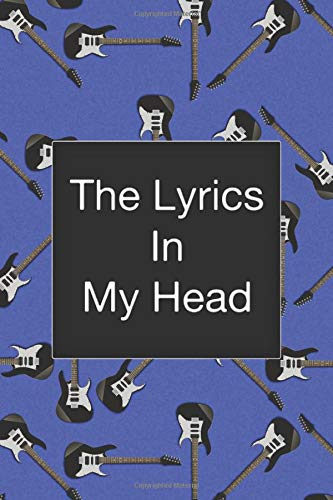 The Lyrics In My Head, Songwriting Notebook, Fender Stratocaster, Electric Guitar, Pattern:...
