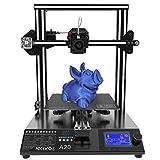 GEEETECH A20 Impresora 3D con base de construcción integrada, detector de filamento y función de reactivación, volumen de impresión 255 × 255 × 255 mm³