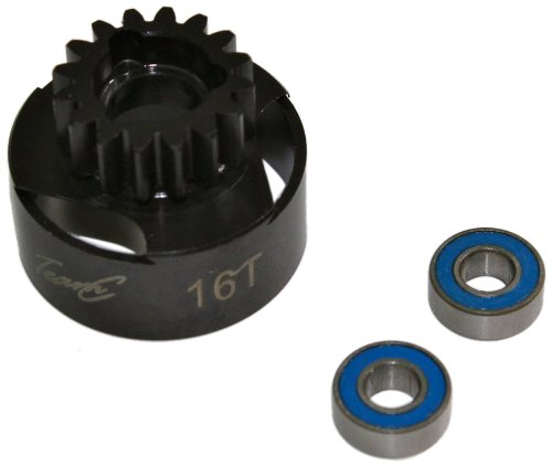 TEAM C – Clutch Gear y Compris Ball Bearings 16T 1 : 8 COMP. (t08783)