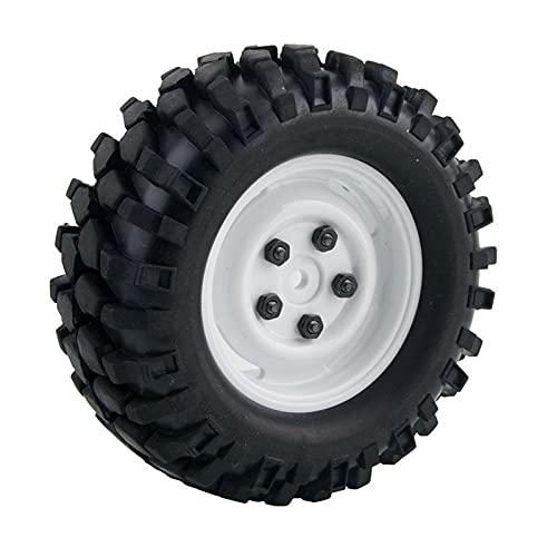 VIKEP Rueda 1.9 Pulgadas de Roca Que trepa el neumático para HSP 1.10 Jeep Wrangler SCX10 D90 Mini reemplazo de Coches (Color : Rim51W-7006)