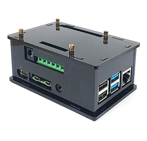 Acrylic Casse for InnoMaker Raspberry Pi HiFi AMP Audio Hat Compatible with Pi4, Pi 3B, Pi3