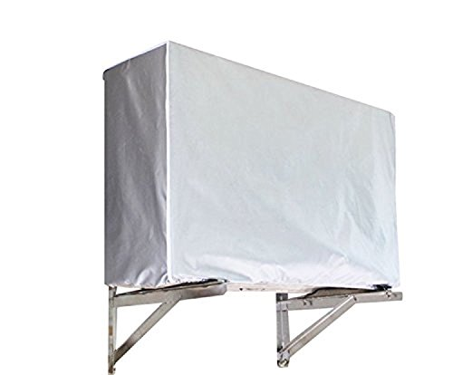 DERCLIVE Furniture Dust Cover Outdoor Air Conditioner Cover Anti-Dust Anti-Snow Waterproof for Home