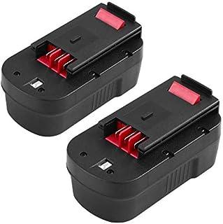 Powayup 18V 3.0Ah Replacement for Black&Decker 18V Batteries A18 A1718 A18NH A18E HPB18 HPB18-OPE HPB18-OPE2 244760-00 Fir...
