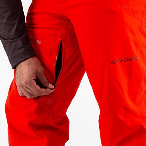 Spyder Dare GTX Skihose für Herren, rot(Volcano), M