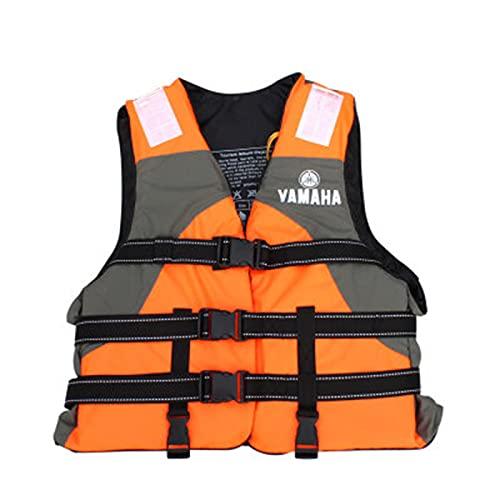 Chaquetas Y Chalecos Salvavidas Salvavidas Chaleco Flotador para Barcos Kayak Adulto con Tiras Reflectantes,Orange