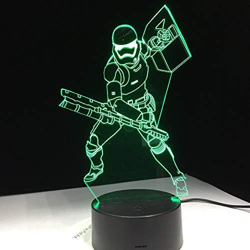 Los Soldados de Darth Vader controlan remotamente Las Ventas directas al por Mayor de fábrica con la lámpara de Escritorio de Control Remoto con Pantalla táctil