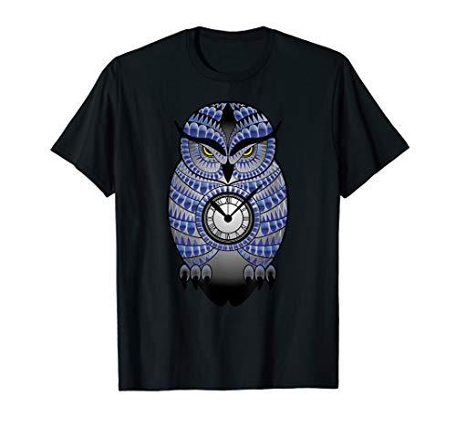 Schöne Eule Uhu Magisch Motiv Für Damen, Herren Und Kinder T-Shirt