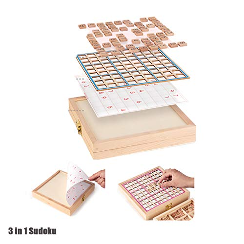 3 in 1 Sudoku Dambord Ladder Training Wiskunde Denken Educatief speelgoed Jiugongge Leerlingen Peuters Kinderen Bordspellen voor volwassenen