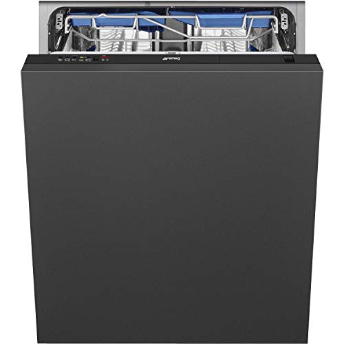 Smeg DI13EF2 13 Place Fully Integrated Dishwasher With Cutlery Tray