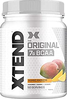 XTEND Original BCAA Powder Mango Madness | Sugar Free Post Workout Muscle Recovery Drink with Amino Acids | 7g BCAAs for M...