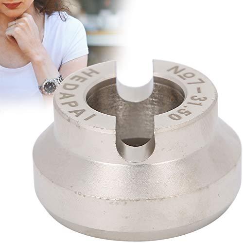 minifinker Matriz de abridor de Relojes, Herramienta de reparación de relojero fácil de Llevar para relojeros para la reparación de Relojes(31.5mm Teeth)