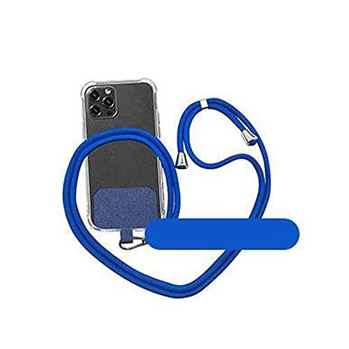 Mengdie Universal Crossbody Nylon Patch Phone Lanyards 1/2pcs Correa del teléfono móvil Anit Perdido Teléfono Celular Cordón Colgante