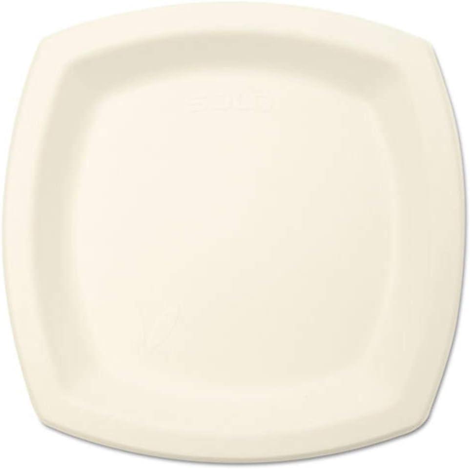 Bare Eco-Forward Austin Mall Sugarcane Dinnerware 6 7 100 Ivory Plate Discount is also underway 10