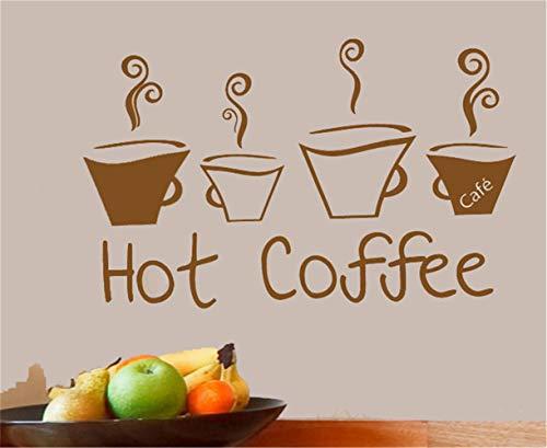 wandaufkleber sterne Heißer Kaffee