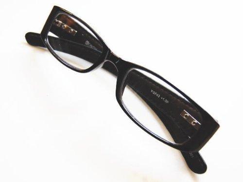 Reading glasses リーディンググラス 老眼鏡 YGF43 Black +2.5
