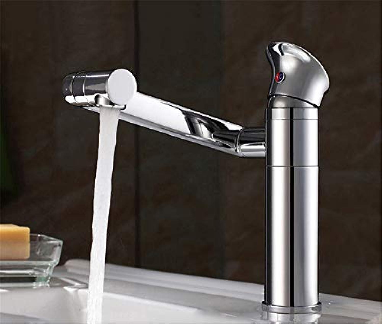 Yuanshuai3477-Faucet Kupfer-Krper-heies und kaltes Wasser-Küchen-Hahn Waschbecken-Mischbatterie