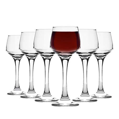 Argon Tableware Juego de Copas de Licor - En Caja Regalo - 80ml - Pa