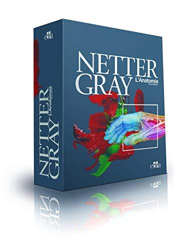 Netter Gray. L'anatomia: Anatomia del Gray-Atlante di anatomia umana di Netter [ 3 volumi indivisibili]