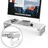 TATE GUARD Verstellbarer Aluminiumlegierung Computer Monitorständer für Monitorständer zum Anheben