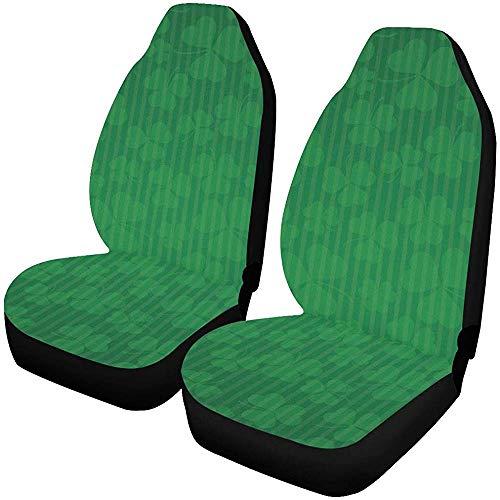 Enoqunt Autositzbezüge Vintage Shamrocks St Patricks Day Autositzbezüge Protector Fahrzeug Bunte Sitzbezüge