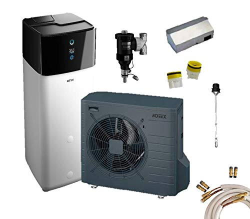 Rotex Luft-Wasser-Wärmepumpen Set* HPSU compact Ultra 308 Biv 6 kW
