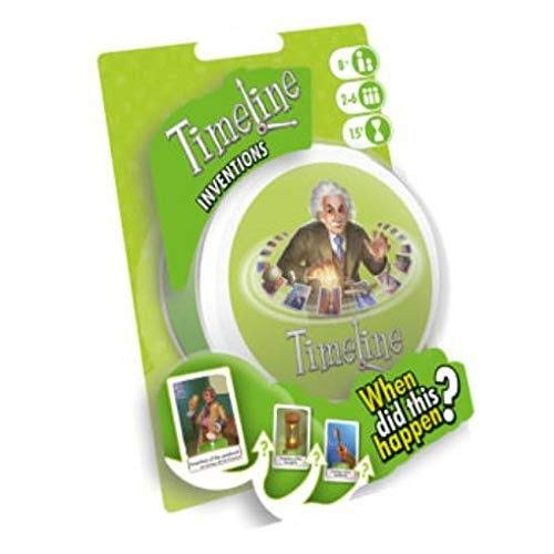 Asmodee ASMTL01INVEN Timeline Inventions Blister, colores variados , color/modelo surtido