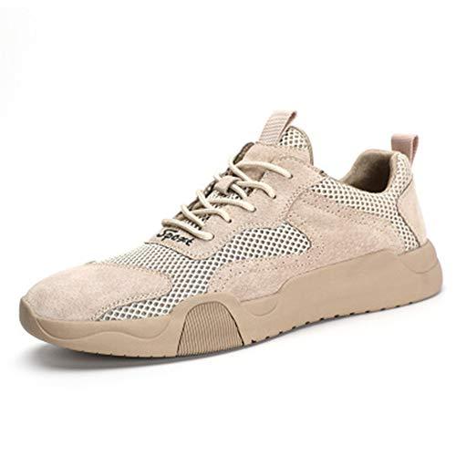 Zhang Zapatos de hombre para otoño/primavera y verano, casual/británico, para uso diario, para caminar, antideslizantes, a prueba de desgaste, A, 43