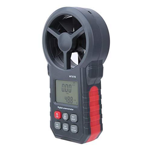 Anemómetro digital USB Bluetooth de alta precisión para el hogar para el probador CFM Velocidad del flujo de aire para la oficina