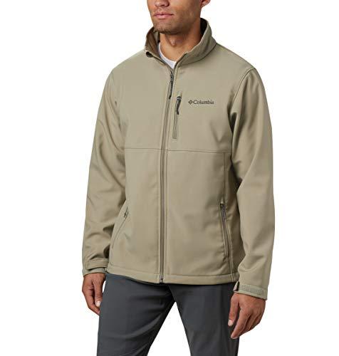 Columbia Herren Ascender Softshell Water and Wind Resistant Jacket Jacke, Tusk, X-Large