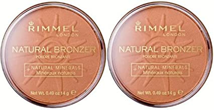 RIMMEL Natural Bronzer + Natural Minerals Sun Glow #025 (Set of 2)
