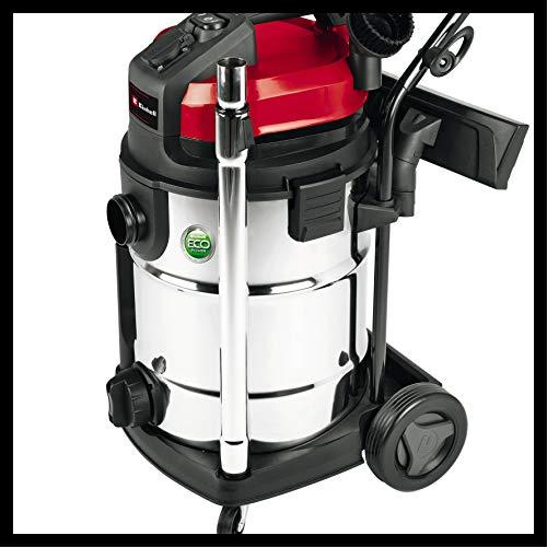 Einhell Aspirateur eau et poussière TE-VC 2230 SA (1150W, tuyau : 3,0 m, Régulateur d'air sur la poignée, Livré avec accessoires)
