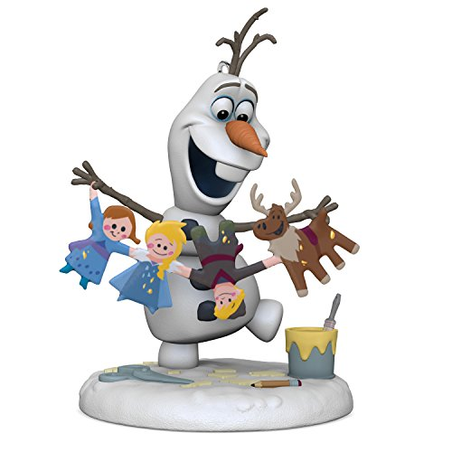Hallmark Keepsake 2017 Disney Olaf's Frozen Adventure Christmas Ornament