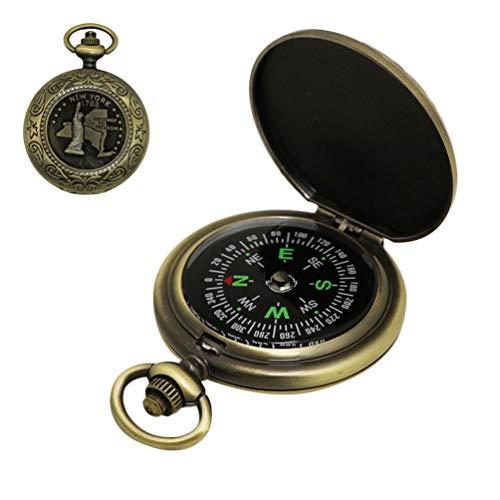 Taschenkompass Taschenuhr Vintage Flap Compass Gentleman Mini Uhr Kompass Outdoor Ausrüstung Für Jagdwanderung.