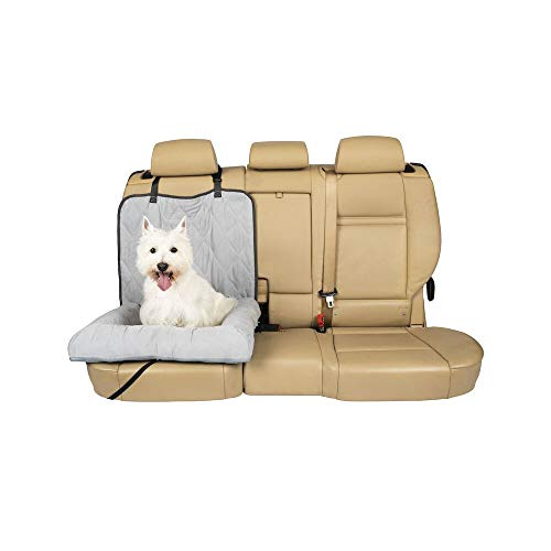 PetSafe Solvit 62432 Car Cuddler, Small, Grey