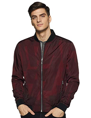 Pepe Jeans Men's Jacket (PM402185_Red_L)