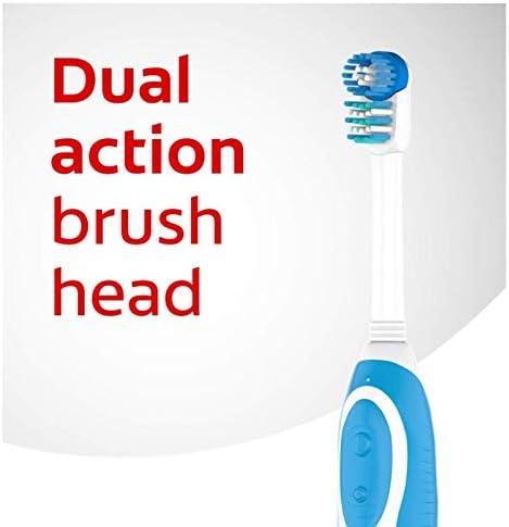 Colgate batterie à 360 degrés Brosse à dents - de toute la bouche propre -Assorted Colors (blue/vert/rose/violet)