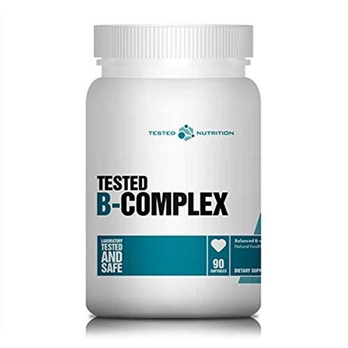 Tested Nutrition Complex B 90 Cápsulas Probadas 90 g