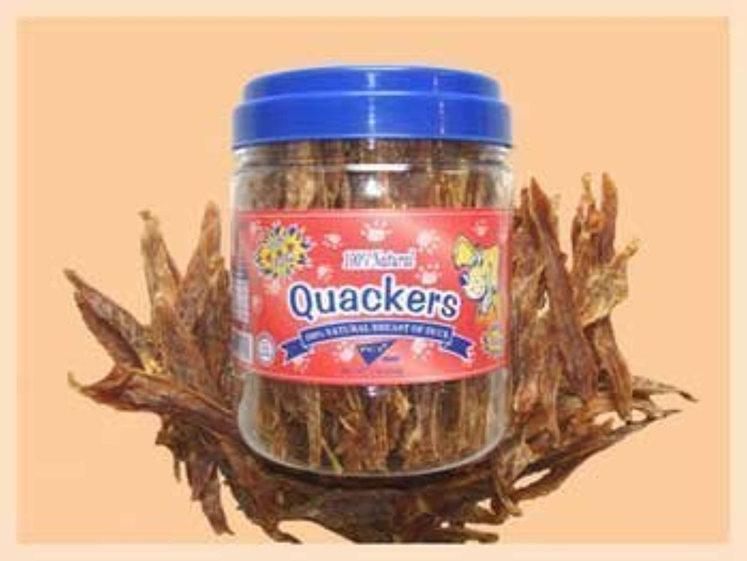 PCI QUACKERS 1LB CANISTER [Misc.] by Pet Center, Inc.