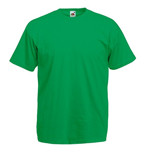 Fruit of the Loom - Classic T-Shirt 'Value Weight' XL,Kelly Green