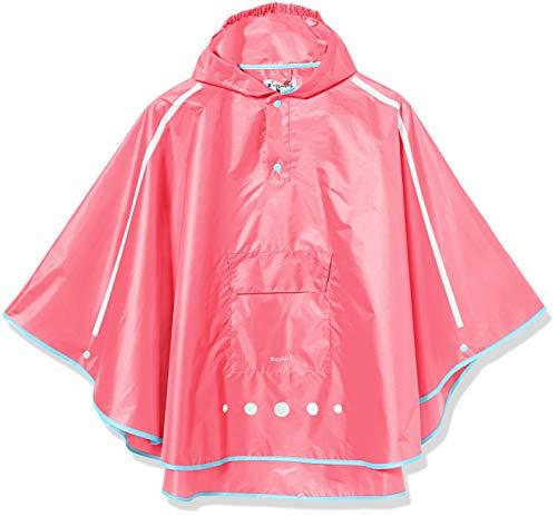 Playshoes Unisex Kinder Regenponcho faltbar Regenjacke, pink 18, M