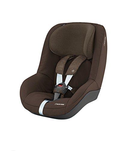 Maxi-Cosi Pearl kinderzitje met 5 zit- en rustposities, groep 1 autostoel (9-18 kg), te gebruiken vanaf 6 maanden tot ca. 4 jaar. Kinderzitje. bruin
