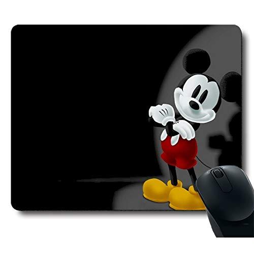Classic Cute Character Black Unique Design Mouse Pad