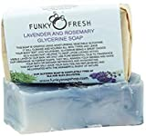 Lavender And Rosemary Glycerine Soap, 100% Natural & Handmade, 95g