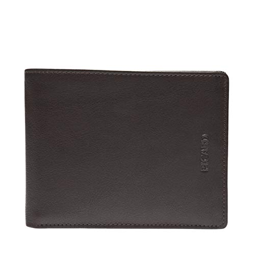 Picard Billfold Horizontal 8 Credit Card Slots Brooklyn Cuero Medium 10 x 13 x 3 cm (H/B/T) Hombre Carteras (2820)