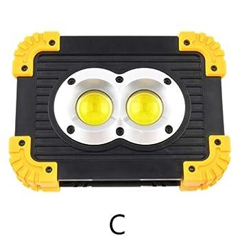 BANGNA Lampe Rechargeable de lumière de Travail Ultra-Lumineuse portative d'urgence Polyvalente à LED