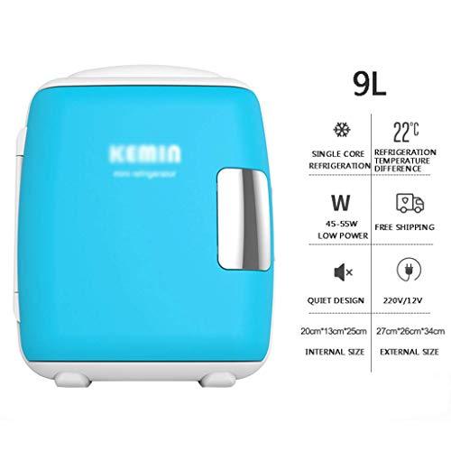 WYJW Frigorifero per Auto 9l Portatile, Piccolo congelatore Domestico Freddo e Caldo, 27 e Tempi, 26 e Tempi, 34 cm
