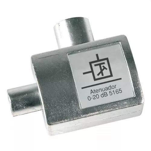 Televes 5165 - Atenuador regulación atenuación 0-20db con paso corriente continua